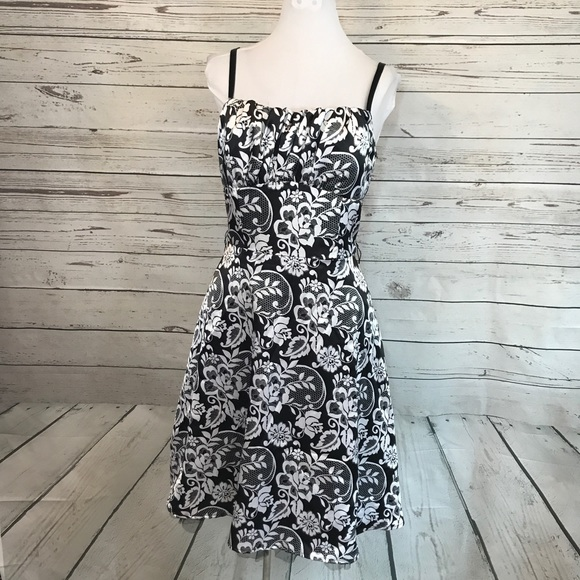 1dcf82dd132 Dress Barn Dresses   Skirts - Dressbarn collection black white full skirt  dress